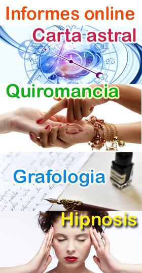informes estudios carta astral astrologia horoscopo grafologia quiromancia hipnosis