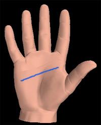 como leer la mano? Leermano_lineacabeza
